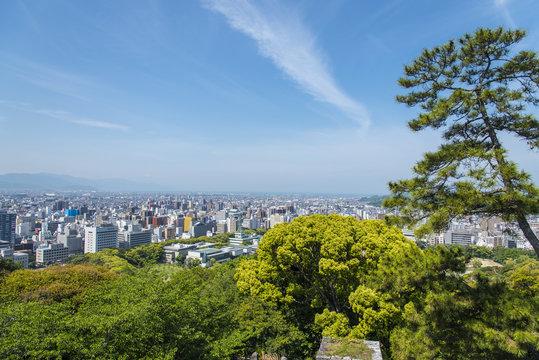 松山市街眺望