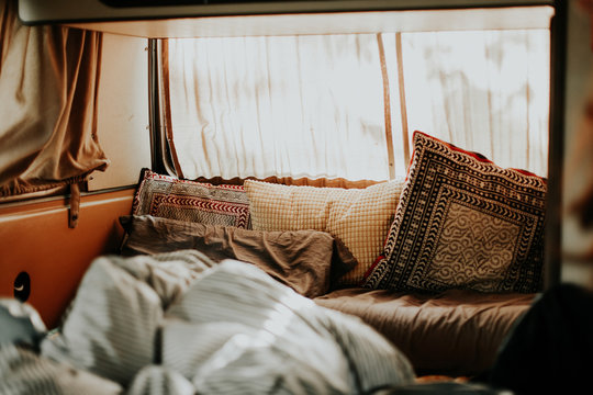 Morning in the van