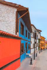 Historical Homes and street Odunpazari - Eskisehir