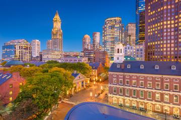 Fotobehang Aziatische Plekken Boston, Massachusetts, USA Cityscape