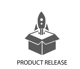 product launch icon