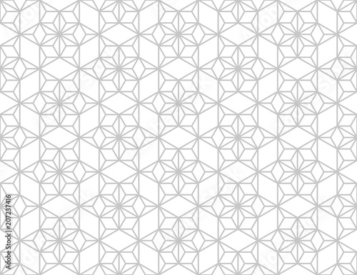 The Geometric Pattern With Lines Seamless Vector Background White And Grey Texture Graphic