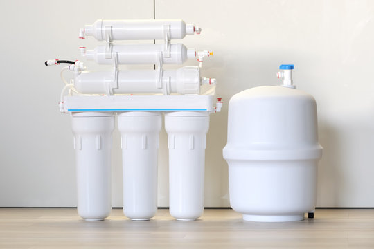 Water purification system. Domestic reverse osmosis filter