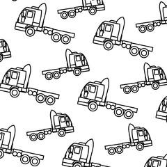 line side truck transport vehicle backkground