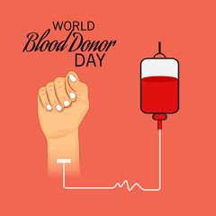 World Blood Donor Day.