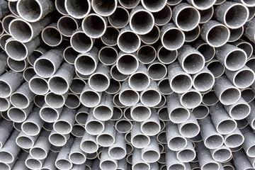 Long plastic pipe