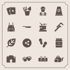 Modern, simple vector icon set with boy, science, footwear, slipper, white, game, sand, media, pub, upload, photo, teapot, plastic, button, male, tea, natural, street, bar, test, social, nature icons