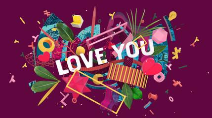 Love you card