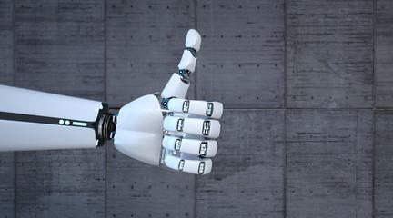 Robot Hand Ok