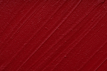 Red matte texture of lip gloss background