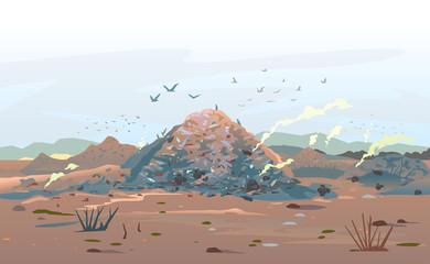 Garage Dump Concept Landscape