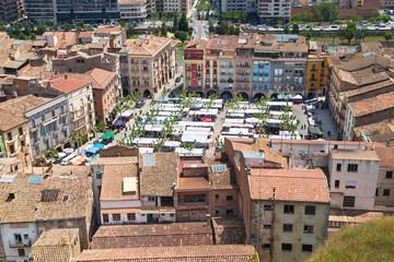 Market Square of Balaguer