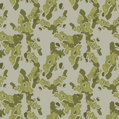 Abstract green and grey background as UFO camouflage