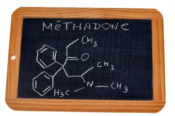 Formule chimique de la méthadone