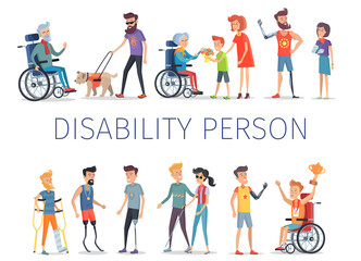 Disabled and Injured People Live Normal Lives