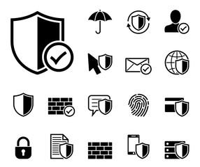 Datenschutz Iconset