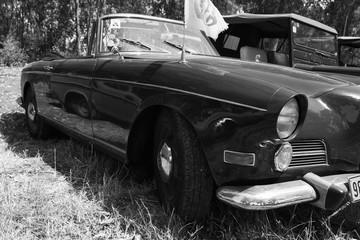 ISRAEL, PETAH TIQWA - MAY 14, 2016: Grand tourer car BMW 503, 1958. Exhibition of technical antiques in Petah Tiqwa, Israel