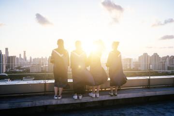 graduat students in school