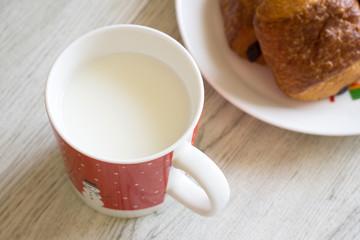 朝食 ミルク