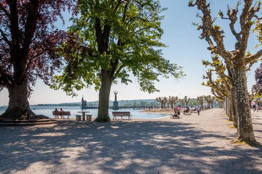 Constance au bord du lac de Constance