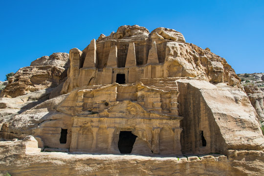 The Nabatean city of Petra (Jordan)