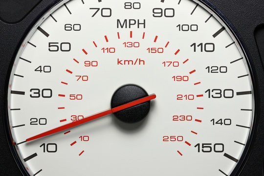 speedometer at 15 MPH