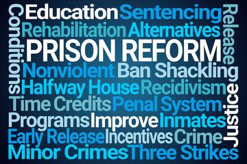 Prison Reform Word Cloud