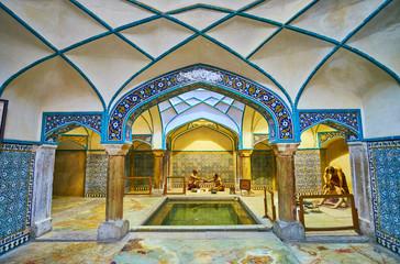 Bathhouse in Kerman, Iran