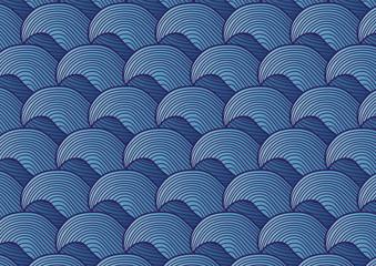 vague - mer - fond - arrière plan - marin