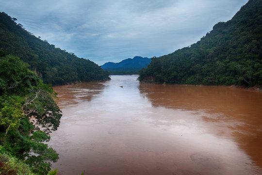 Rio Alto Beni near Rurrenabaque