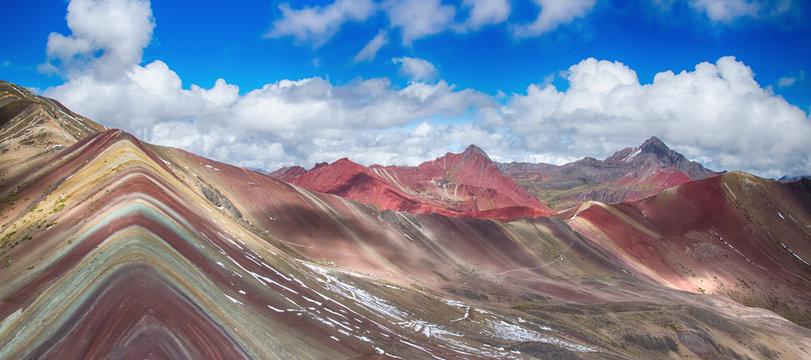 The Vinicunca mountains near Cuzco (Peru)