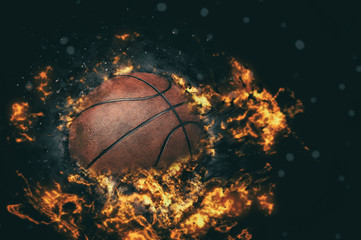 Basketball background.