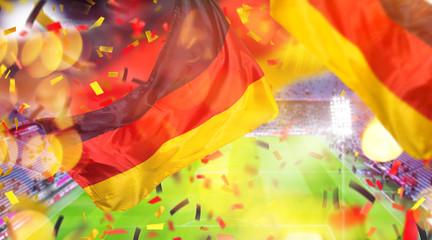 Hintergrund WM Fussball Deutschland Trikot