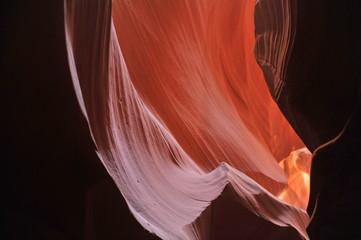 USA. Antelope Canyon in the north of Arizona