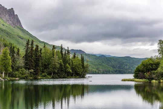 The Placid Waters of Alaska's Matanuska River