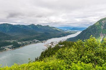 Juneau Alaska From Mount Roberts