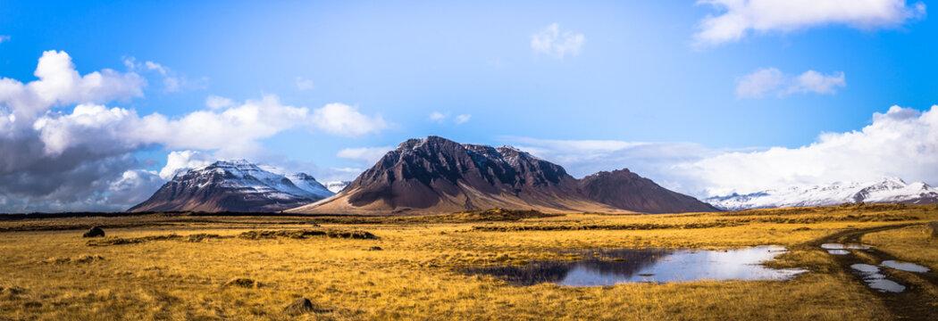 Snaefellsjoekull  - May 02, 2018: Snaefellsjoekull national park, Iceland