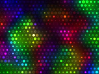 Bright Romantic Spotlight Lights Background  - Disco Party LED  Projector Light Design