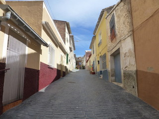Pliego, pueblo de Españal perteneciente a la Región de Murcia, situado en la Comarca del Río Mula