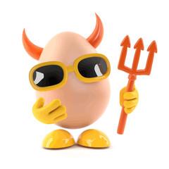 3d Devil egg
