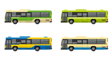 路線バス、セット