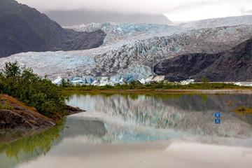 メンデンホール氷河,