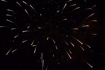 Realistic fireworks