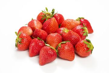 真っ赤に熟した苺