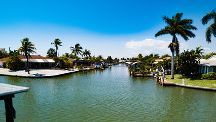 Ft Myers, Florida, Canal