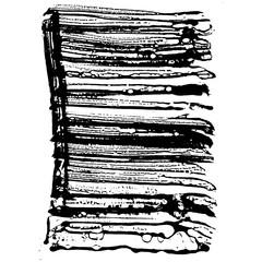 Ink vector splash. Vector illustration. Grunge hand drawn watercolor texture.