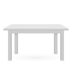 3d Table mockup