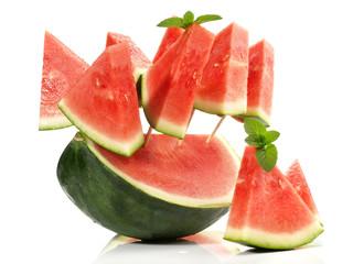 Wassermelone am Stiel