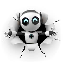3D Roboter Überraschung