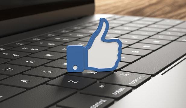 3D Tastatur Like